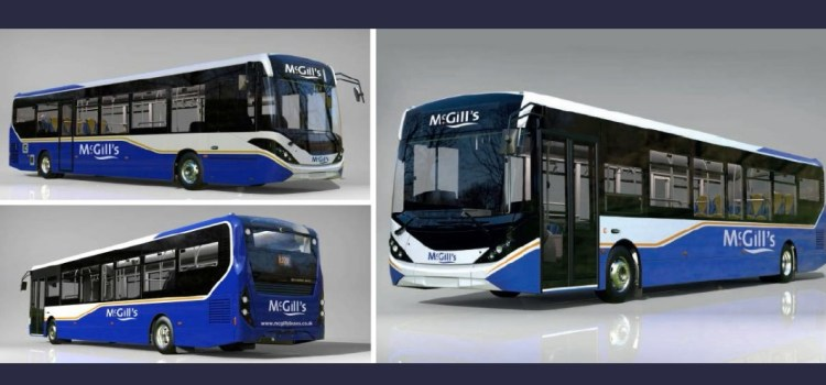 McGill's announce new buses to enter their fleet in March