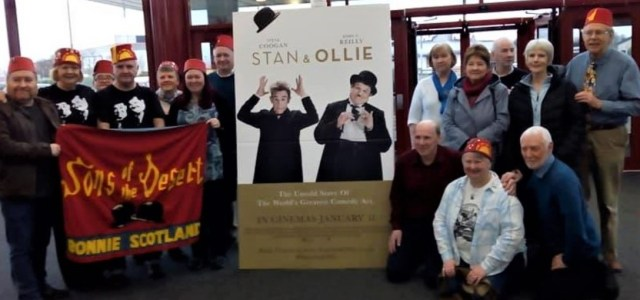 Local fans welcome Stan and Ollie movie to Paisley