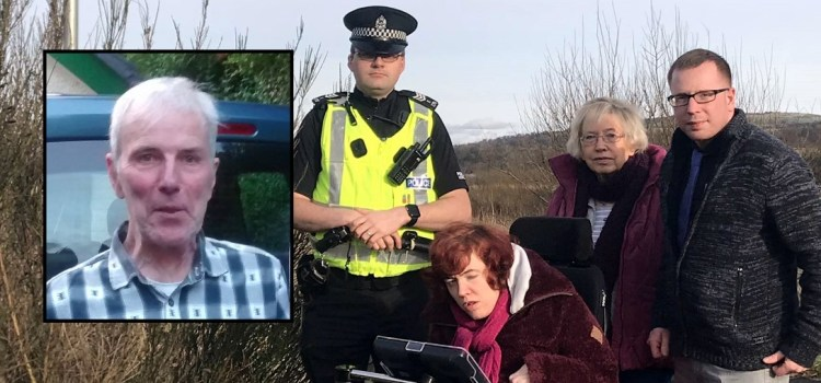 Family of missing Kilbarchan man Allan Burns makes an emotional  public appeal for information