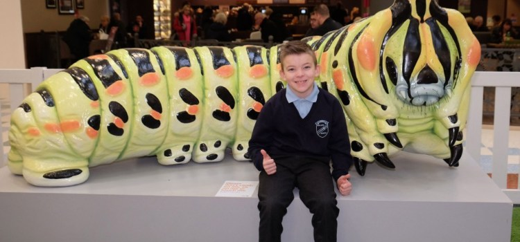 It's a bug's life for arty Wallace Primary School pupils