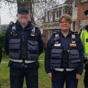Police join Council Wardens to educate drivers on the dangers of parking at schools