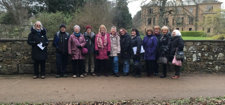 Fife floral field trip by Paisley & District U3A members