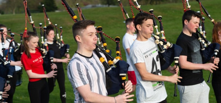 Photos: Renfrewshire Schools Pipe Band are tuning up to take on the world's best