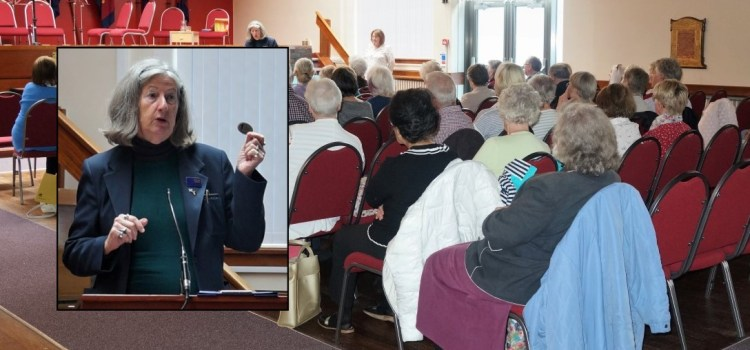 Tour guide dramas at Paisley & District's U3A latest talk