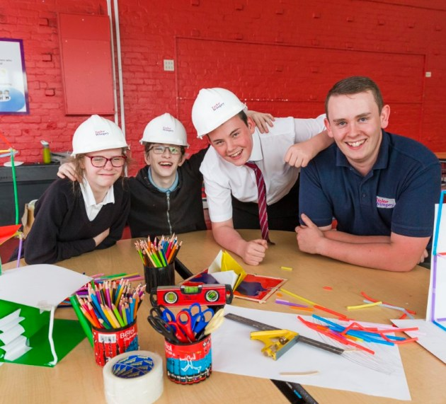 Taylor Wimpey leads STEM session at Mary Russell School