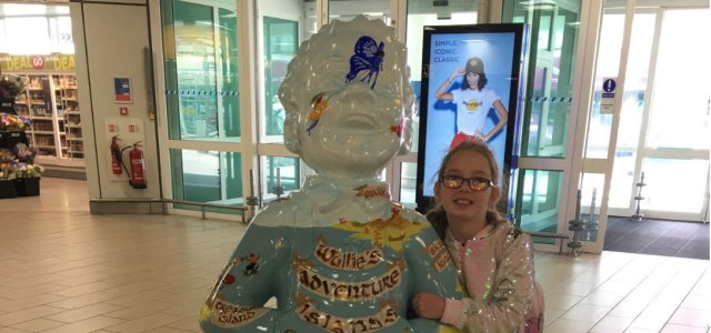 Iconic comic character Oor Wullie public art exhibition arrives at Glasgow Airport