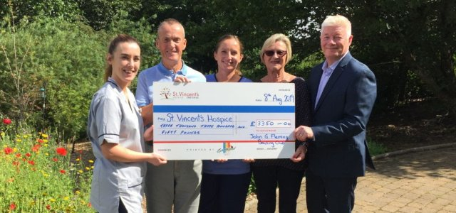 Local bowling club raises thousands for hospice care