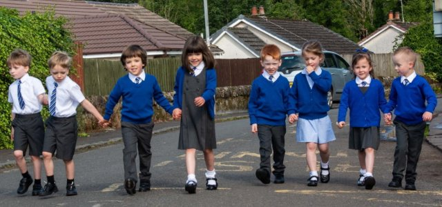 Teachers will see double as four sets of twins start school