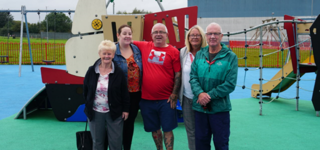 Friends of Knockhill Park secure £9000 investment for new 'expression swing'