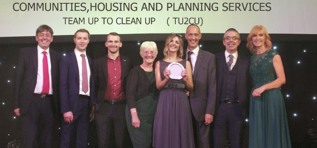 Team Up cleans up at COSLA Excellence Awards
