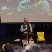 Murdered aid worker's brother takes message of unity to Gryffe High School