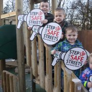 Housebuilder supports national road safety week in Houston
