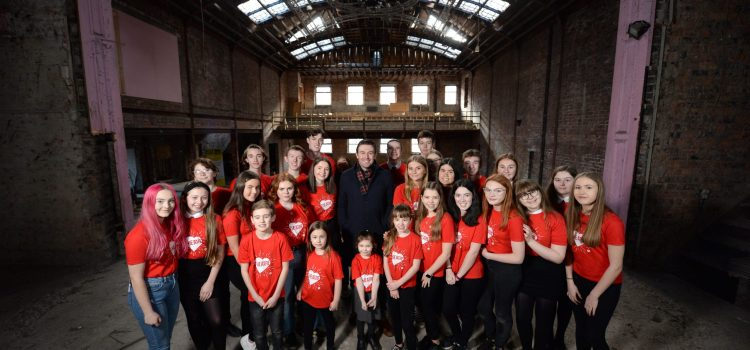 Star of stage and screen, and new pace patron, James McArdle reveals Paisley location of Scotland's first dedicated young people's theatre