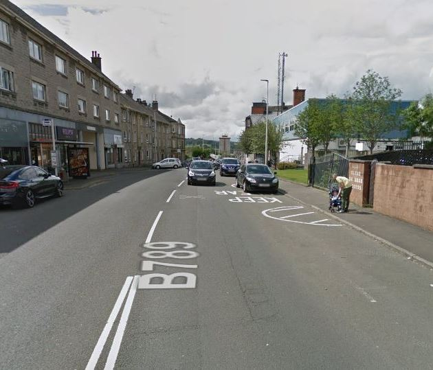 Police appeal after pensioner was struck by a car in Johnstone