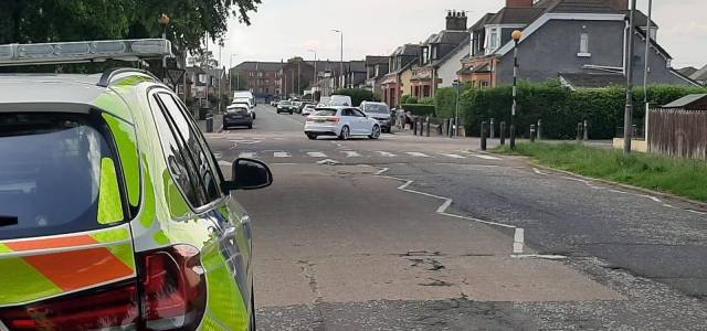 Police speed checks carried out in Renfrew