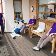 Veterans Cycle 500 Miles  for their Erskine Care Home