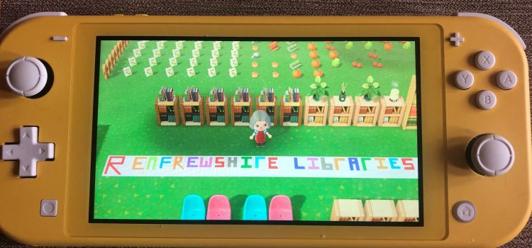 Library team join the fun playing video game Animal Crossing New Horizons