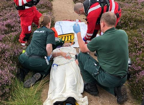 Online audiences can learn about the work of Scotland's Charity Air Ambulance
