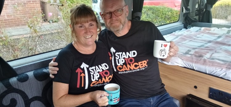 Paisley couple who have both survived cancer bite back with brunch
