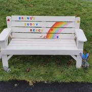 Appeal after benches stolen from Erskine Community Garden