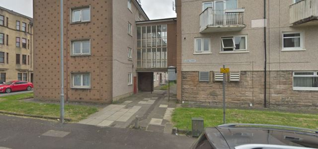 Police investigate fire after dumped furniture is set alight in Paisley