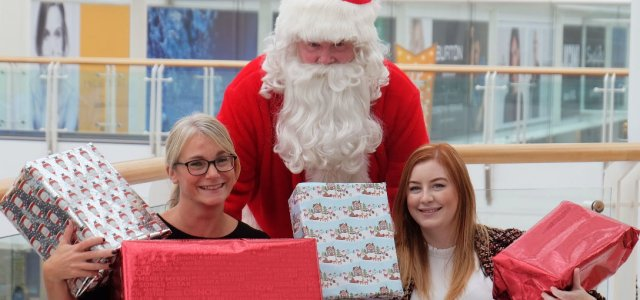 Annual Christmas Toy Bank appeal collection box opens in Braehead
