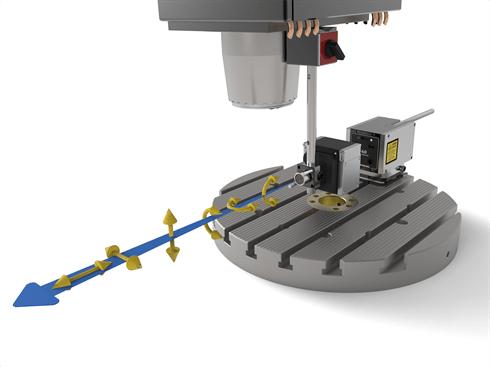 XM-60 six degrees of freedom measurement