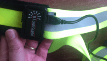 de reflecterende hardloper led illumiseen reflective belt