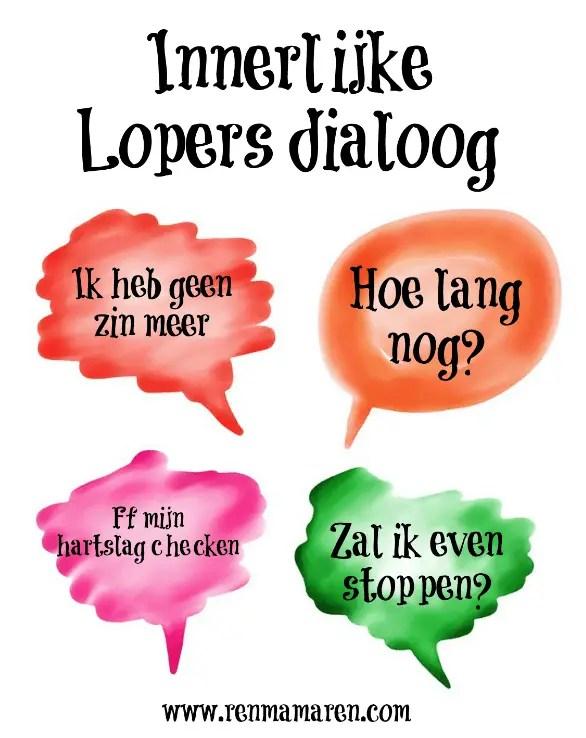 hardlopers dialoog