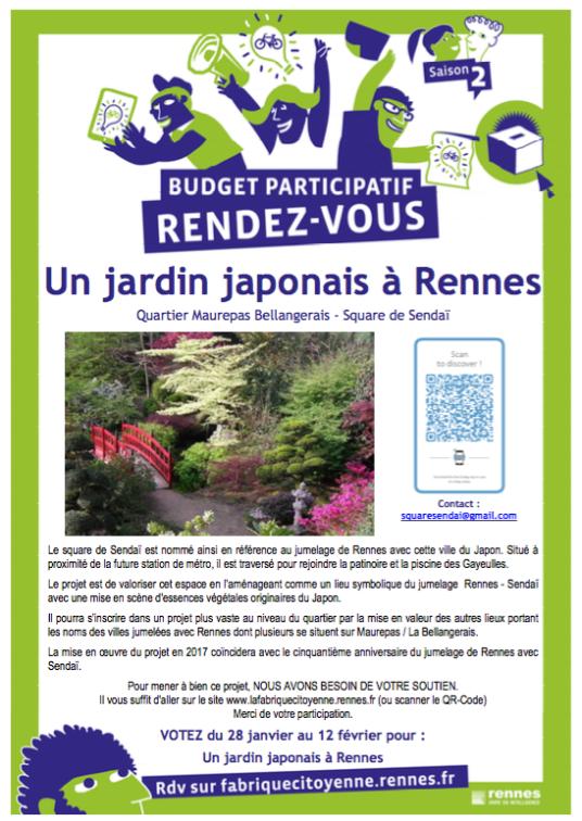 Un Jardin japonais à Rennes
