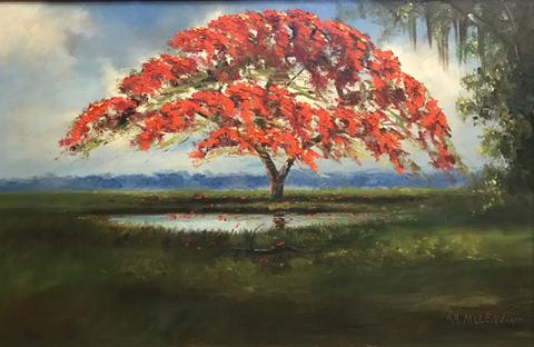 Florida Highwaymen Art - R.A. McLendon
