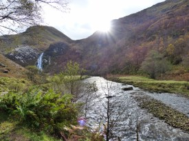 Steall Falls and the River Nevis