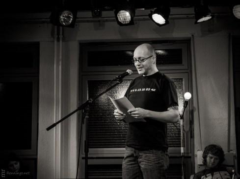Jochen Ruscheweyh, Poetry Slam, 15.2.2013, C@fe-42, Gelsenkirche