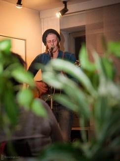 Edy Edwards, Wohnzimmerlesung, 20.4.2013, Gladbeck