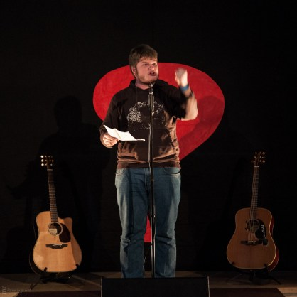 Jan Philipp Zymny, 25.5.2013, Poetry Slam C@fe-42, Gelsenkirchen