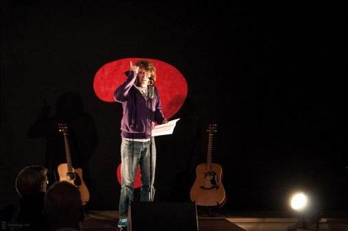 Jay Nightwind, 25.5.2013, Poetry Slam C@fe-42, Gelsenkirchen