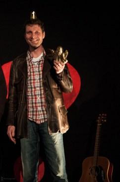 3. Platz: Harald Landgraf, 25.5.2013, Poetry Slam C@fe-42, Gelse