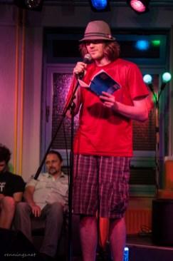 Frederik, Poetry Slam, C@fe-42, 6.9.13