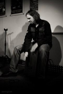Adrian Klawitter (of Jaana), 8.11.2013, C@fe-42, Poetry Slam