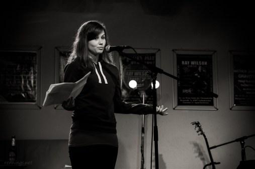 Angelika, CaféSATZ Poetry Slam, C@fe-42, 6.12.2013