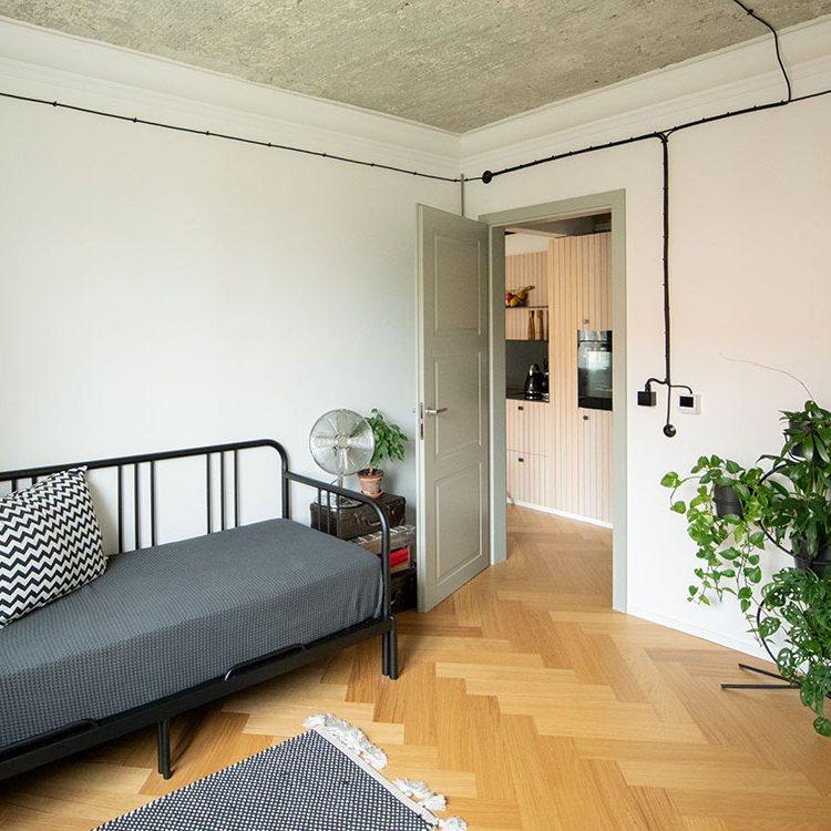 Rekonštrukcia bytu na Račianskej - RENOVATE