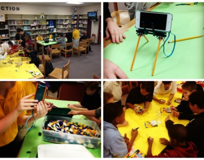 K'nex club and Digital Learning Day