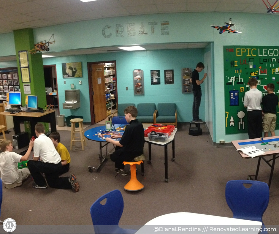 Our Makerspace at one year old
