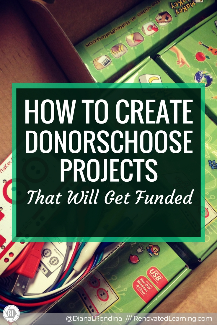 How to Create DonorsChoose Projects That Will Get Funded   I've raised over $13,000 through 20 funded projects through DonorsChoose. It's an amazing funding resource for public schools. Here's my advice on how you can create successful DonorsChoose projects.