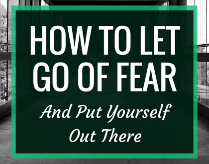 How to LET GO of FEAR and Put Yourself Out There | It can be so easy for us to downplay our achievements, to be scared of the criticism of others, and to never share our voices. But I feel that it is vital for us to put ourselves out there, take the risk, and share our stories. | RenovatedLearning.com