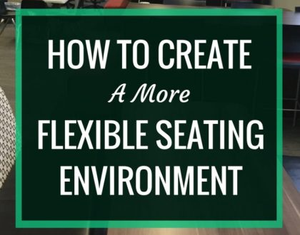How to Create a More Flexible Seating Environment   Creating a diverse array of flexible seating options in our libraries improves student learning. Here's some advice on how to get started.