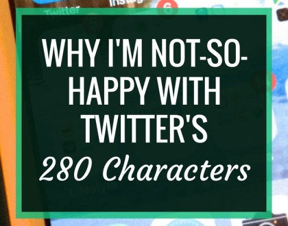 Why I'm not-so-happy with Twitter's 280 characters | Twitter recently made the switch from 140 to 280 characters. Here's why I think this actually takes away from Twitter's power
