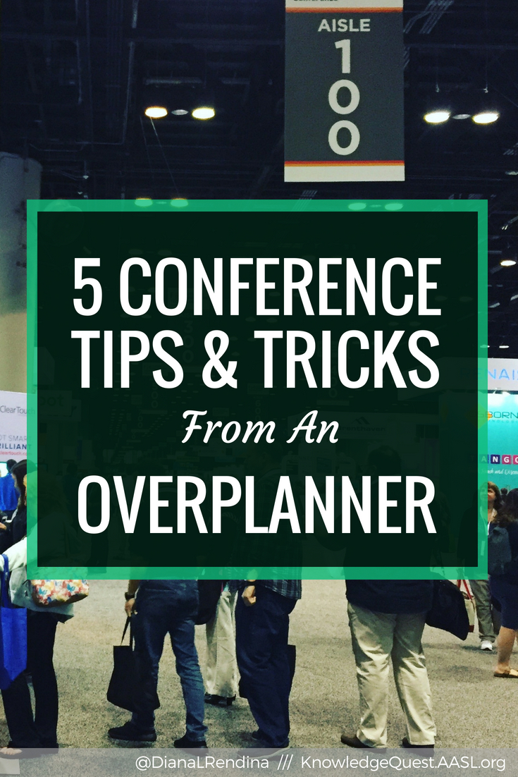 Having a plan before you go to a big conference can make your experience so much better. Here's some tips from a seasoned overplanner.