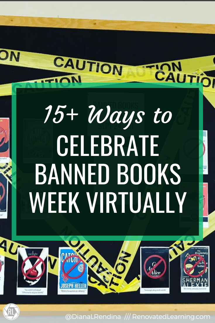 15+ Ways to Celebrate Banned Books Week Virtually