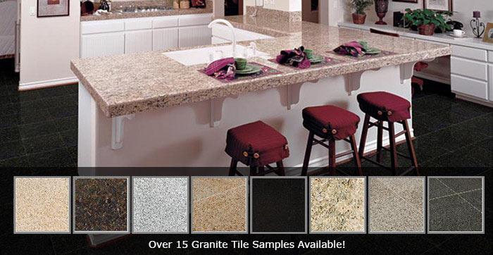 granite tile vs marble vs porcelain